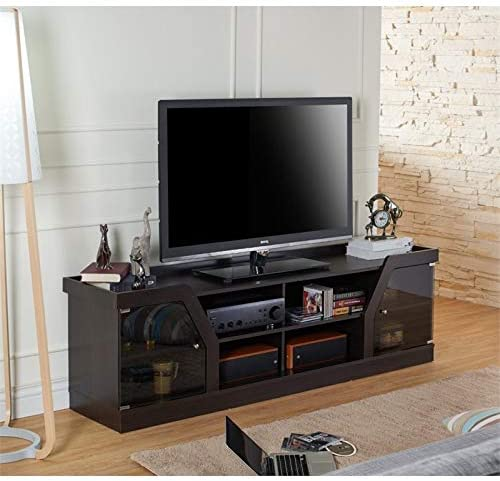 BOWERY HILL 71″ Entertainment TV Stand Media Console