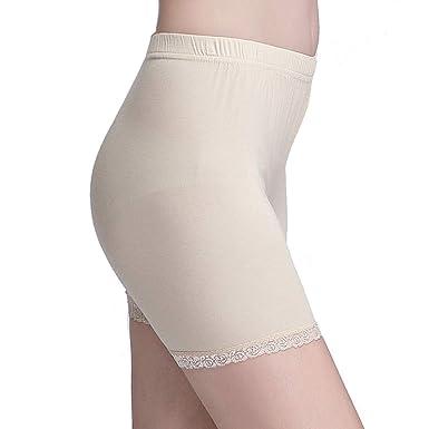 da06e03e4e6b Vinconie Kurze Leggings Damen Unterrock Hose Spitze Radlerhose Sicherheits  Shorts