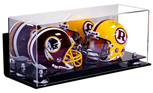 Deluxe Acrylic Double Mini Football Helmet Mini Goalie Ma...