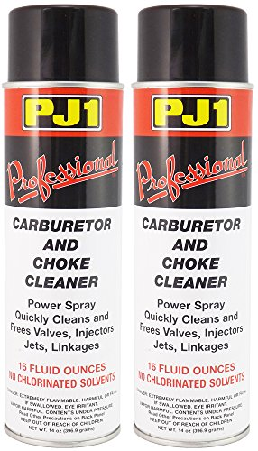 PJ1 40-1-2PK Pro Carb and Choke Cleaner, 32 oz, 2 Pack