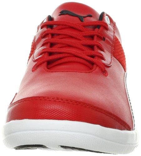 Puma Menns Første Runde Sf Mote Sneaker Rosso Corsa / Hvit