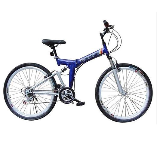 YOUSR Bicicleta Plegable, Bicicleta Plegable De 24-26 Pulgadas Y ...