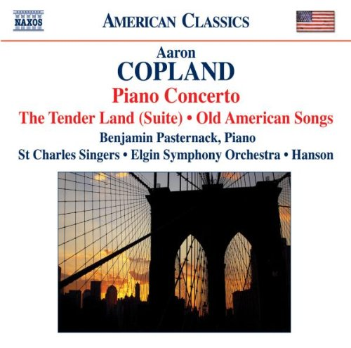 American Orchestral Music (Copland: Piano Concerto - The Tender Land (Suite); Old American Songs)