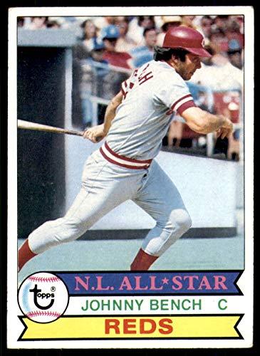 1979 Topps # 200 Johnny Bench Cincinnati Reds (Baseball Card) Dean's Cards 5 - EX Reds