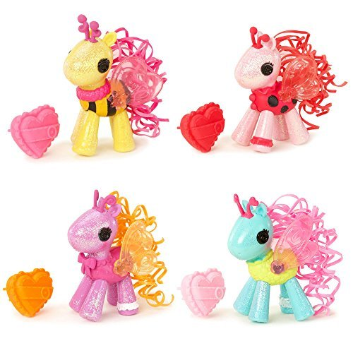 Lalaloopsy Baby Ponies Complete Set Of 4 Glowy , Flutterwings , Lady B. & Honeycomb by Lalaloopsy