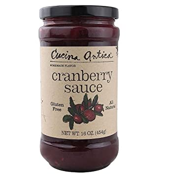 Amazon.com : Cucina Antica Sauce Cranberry, 16 oz : Breakfast Bars ...