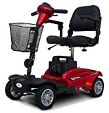 EV Rider - Mini Rider Compact Scooter - 4-Wheel - Metallic Red