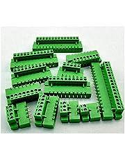10-delige klemstekker type 300V 10A ht5.08 5,08mm pitch connector PCB schroefklemmen stekker rechte pin 2/3/4/5/6/7 / 8P, 4 p.