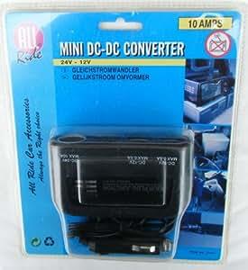 Mini transformador Dc-Dc 24v a 12v para camión, furgoneta, coche 10amp