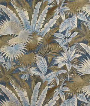 Tommy Bahama Indoor/Outdoor Bahamian Breeze Ocean Fabric By The (Tommy Bahama Leaf)