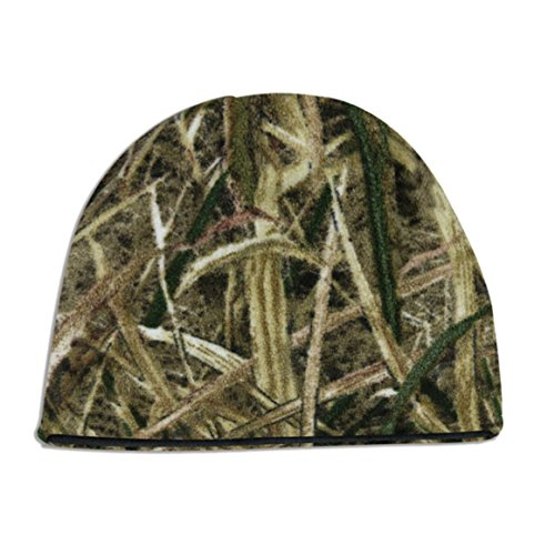(Mossy Oakreversible Fleece Camo Beanie )