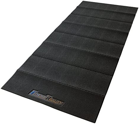 Fitness Reality Water-Resistant Folding Exercise Equipment Mat 79 x 35.4