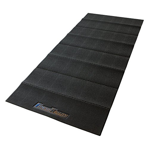Fitness Reality Water-Resistant Folding Exercise Equipment Mat (79'' x 35.4'') by Fitness Reality