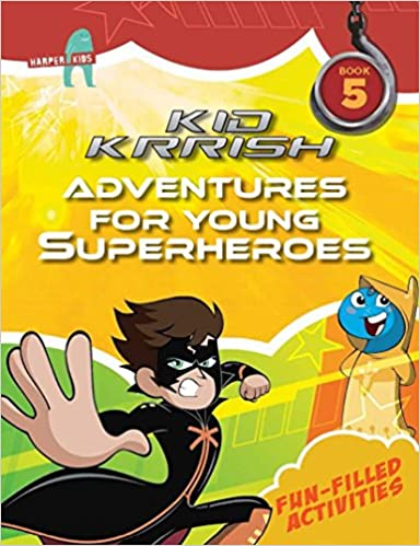 Buy Kid Krrish Book 5 Fun Filled Activities Online At Low Prices In India