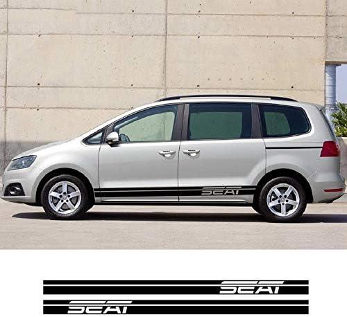 Auto Seitenstreifen Seitenaufkleber Aufkleber Für Seat Alhambra Ibiza Leon Sport Freizeit