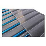 15 Inch Canvas Painting Brush Holder 20 Slots for