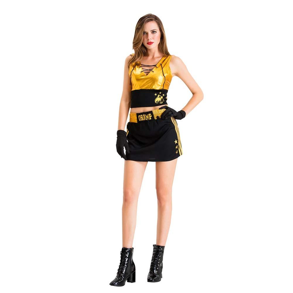 Disfraz De Boxeador De Ninja De Mujer Adulta De Halloween con ...
