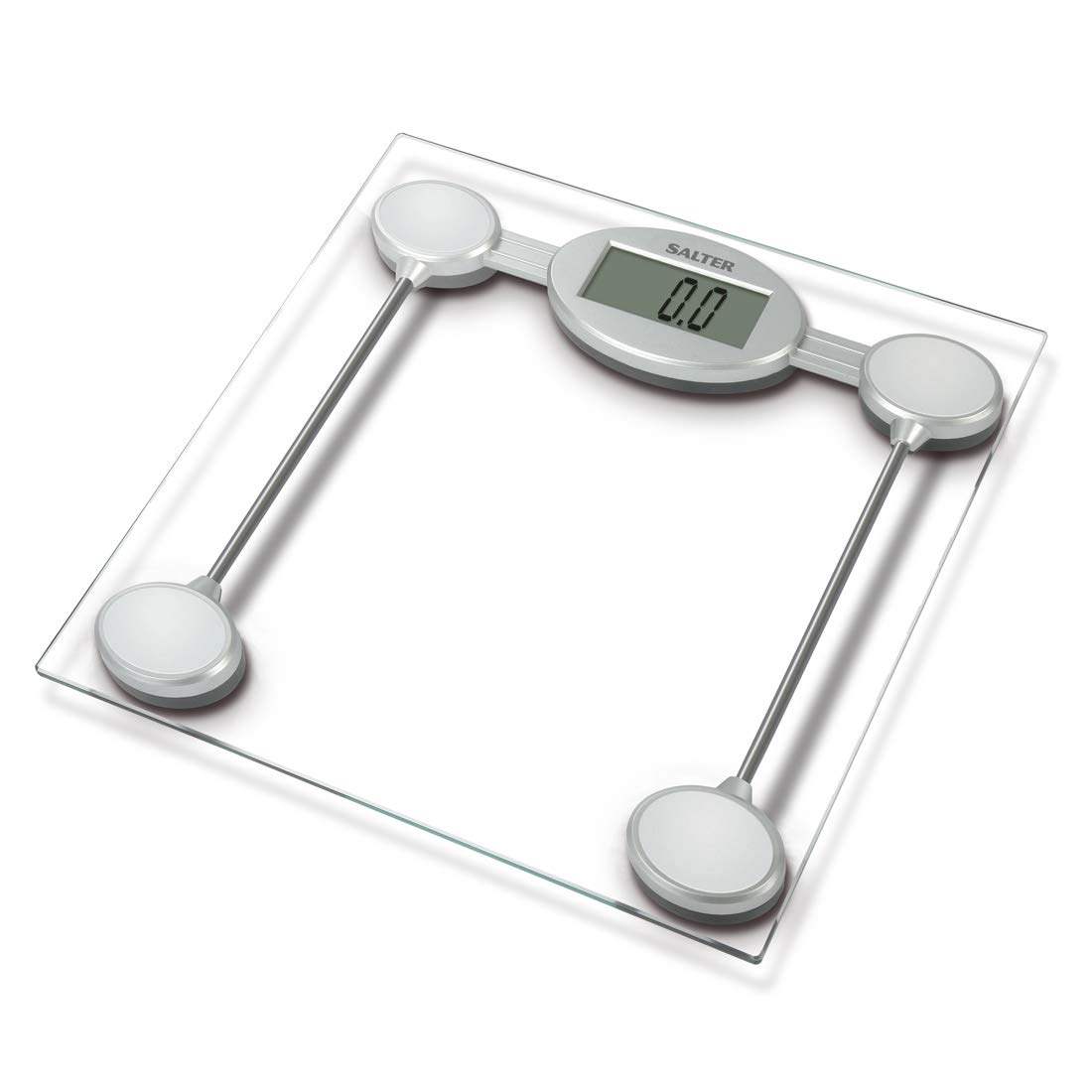 Amazon Salter Glass Electronic Bathroom Scale 9018ssv3r Health