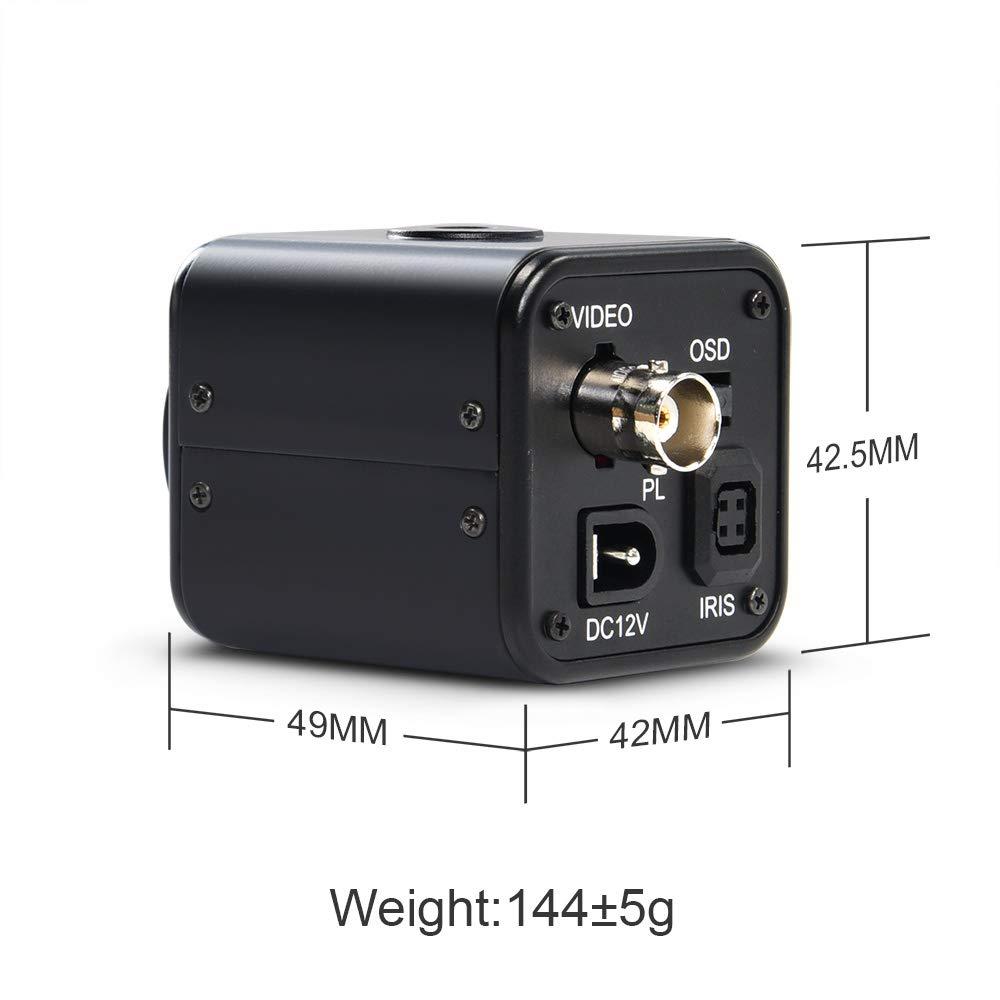 HD-SDI 2 MP 1080P HD Digital CCTV Security Camera MOKOSE Mini SDI Camera with 3.6mm HD No Distortion Lens 1//2.8 High Sensitivity Sensor CMOS with OSD Menu