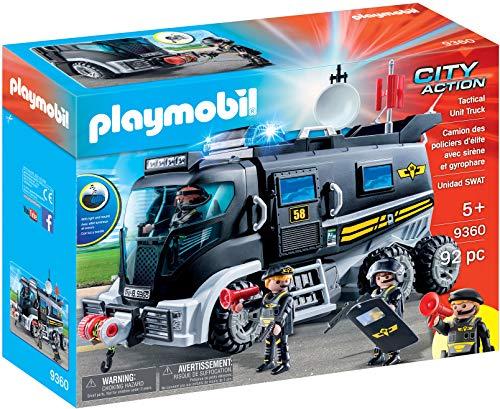 - PLAYMOBIL® Tactical Unit Truck