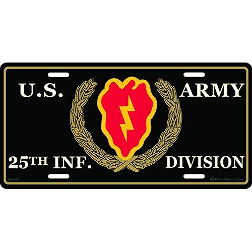 Division License Plate Frame - 9
