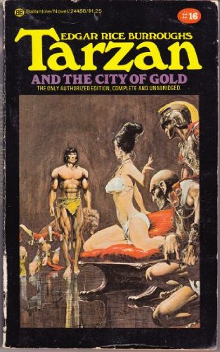 book cover of Tarzan and the City of Gold