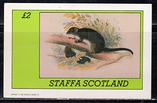 1982 Rat Souvenir Sheet Scotland