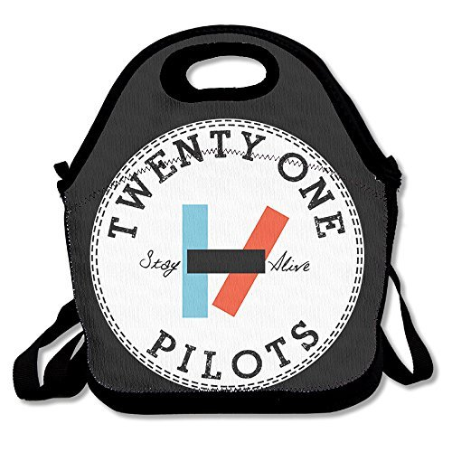 Lygfdsss 21 Pilots Funny Lunch Tote Lunch Bag