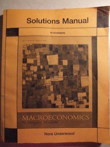 Macroeconomics Solutions Manual (Mankiw)
