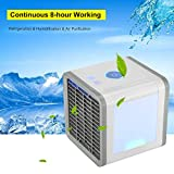Save Power Desktop Air Cooler Portable Personal Air Conditioner Arctic Air Personal Space Cooler Easy Way to Cool Home Office Desk
