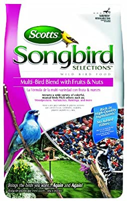 Songbird Selections Multi-Bird Seed Blend with Fruits and Nuts