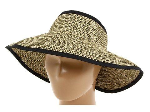 fe7e20125c7 San Diego Hat Company Women s Ultrabraid Visor With Ribbon Binding