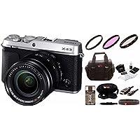 Fujifilm X-E3 Mirrorless Camera w/XF18-55mm Lens Kit & Focus Camera Gadget Bag