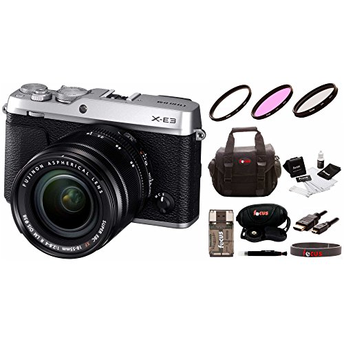 Fujifilm X-E3 Mirrorless Camera w/XF18-55mm Lens Kit & Focus