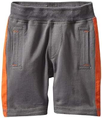 Tea Collection Little Boys' Side Stripe Gym Shorts, Thunder, 10