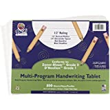 School Specialty Handwriting Paper - 1/2 Rule, 1/4 Dotted, 1/4 Skip - 10 1/2 x 8 inch - 500 Sheets
