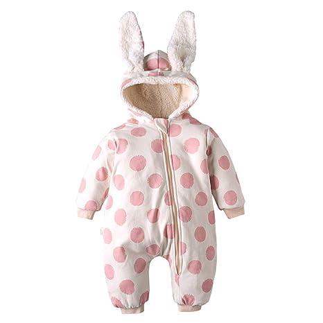578f5a98fc49 Baby Hoodie Bodysuit,Hoody Coat Winter Infant Rompers,Baby Cute Cartoon  Romper Outfits Long
