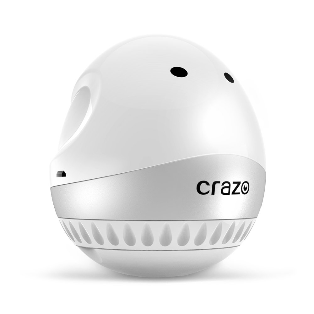CRAZO Quitapelusas Recargable USB, Removedor de Pelusa Eléctrico, Eliminador de Pelusa Rasuradora con un Elegante Diseño Ergonómico