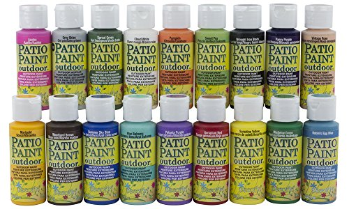 ACRYLIC PATIO PAINT FAN FAVORITES SAMPLER SET (Sealers Patio)