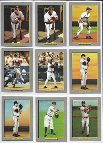 (2005-2006 Turkey Red Baseball Complete 630 Card Set With Variations In Sheets And Album)