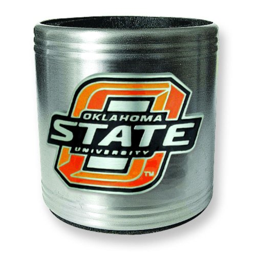 (FindingKing Oklahoma State University Stainless Steel Can Cooler)