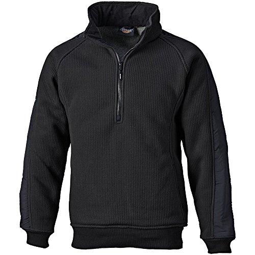 Dickies 89000LB Large Eisenhower Fleece Pullover - Black ()