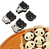 Cartoon Panda cookies cutter biscuit mould set baking tools cutter tools cake decoration 4pcs/set bakeware mold
