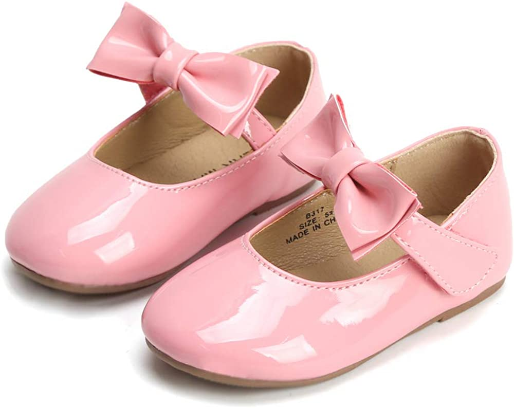 Felix /& Flora Girls Shoes Girls Ballerina Flat Shoes Mary Jane Dress Shoes Little//Toddler Girls Shoes//Big Kids