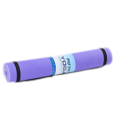 Colchoneta de Yoga ensanchada 6/8 mmtpe sin Sabor Principiantes ...