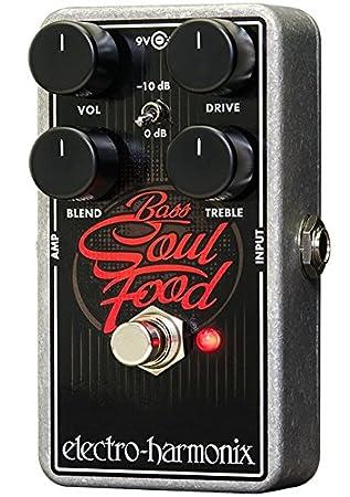 Electro Harmonix 665196 efecto de bajo eléctrico con sintetizador Filtro Bass Soul Food: Amazon.es: Instrumentos musicales