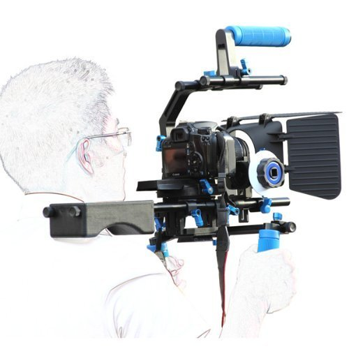 SunSmart Professional DSLR Rig + Follow Focus + Matte Box +