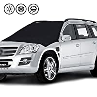 Magnetic Mindshield Cover,Treeon Snow Frost Windshield Cover New 6x Magnets Fits SUV, Truck & Car Windshields-Large over 210cm X 120cm