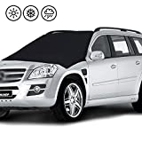"""Universal Windshield Cover Magnetic,Layopo Car Sonw Windshield Cover Frost Guard Protector,Ice Cover,Car Windsheild Sun Shade,Ultra Durable Weatherproof Design Outdoor Car Covers,83""""x 47"""""""