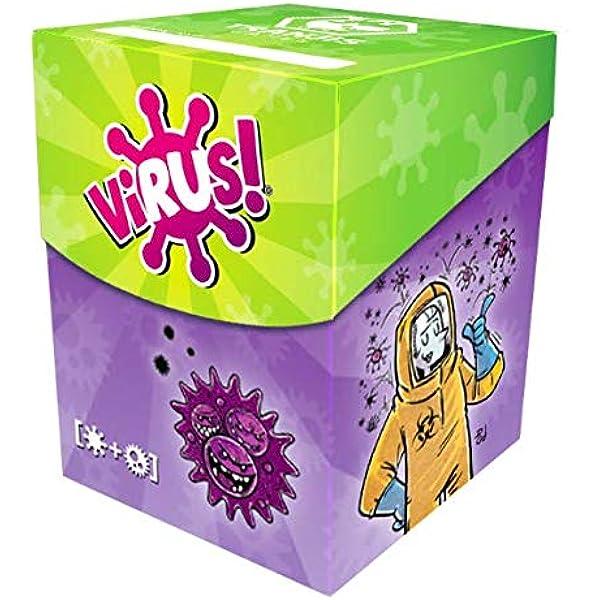 Virus Deck Box + 120 Fundas Premium: Amazon.es: Juguetes y juegos
